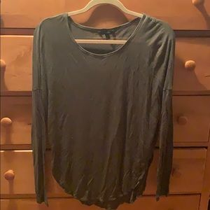 Banana Republic Olive Green Long Sleeve